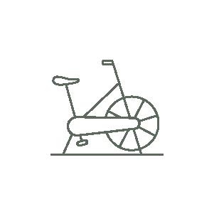 Bike machine icon